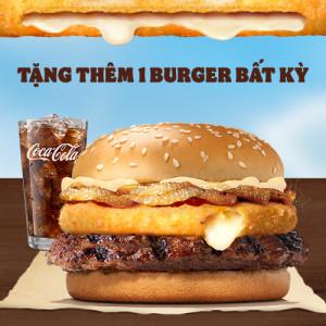 Burger Siêu Nhân Phô Mai Whopper + Nước