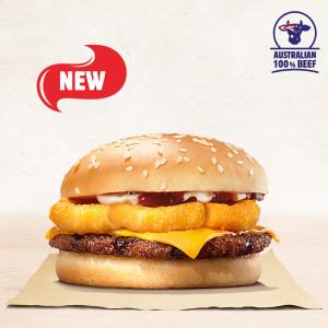 Burger Vòng Hành Chiên (size vừa)