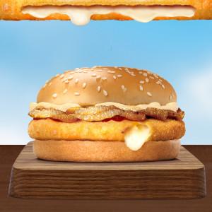 Burger Siêu nhân phô mai (cỡ vừa)