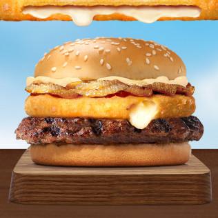 Burger Whopper Bò Siêu nhân phô mai (cỡ lớn)