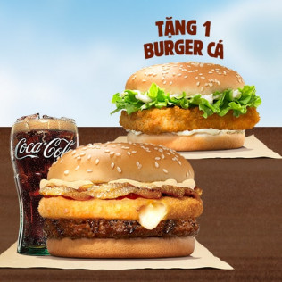 Tặng Burger Cá