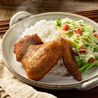Cơm cánh gà BBQ